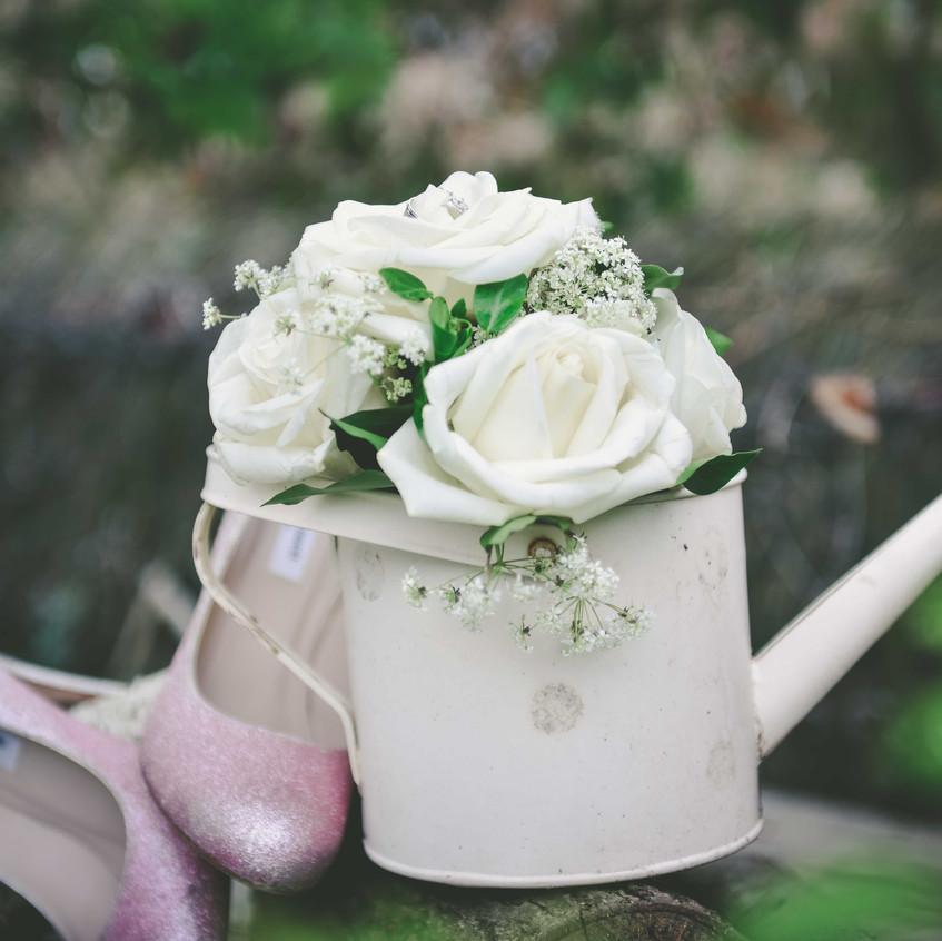 les chaussures de la mariée - ally pop - wedding planner - emmanuelle aaron