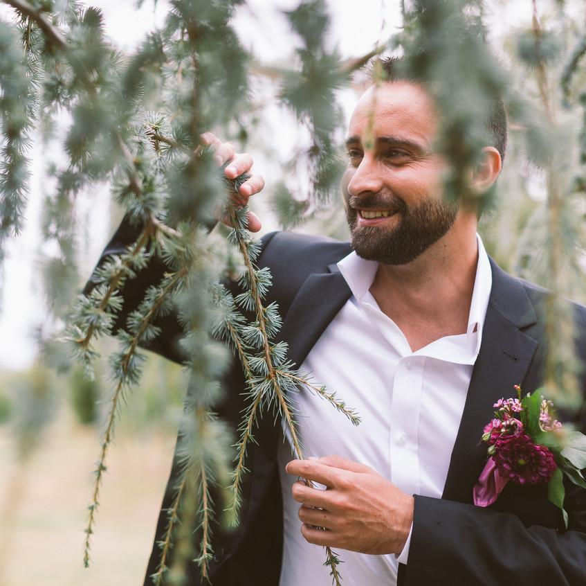 boutonnière marié - ally pop - wedding planner seine et marne - wedding planner paris - mael lambla