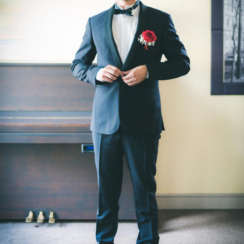 boutonnière marié - ally pop - wedding planner seine et marne - wedding planner paris - pictorelle