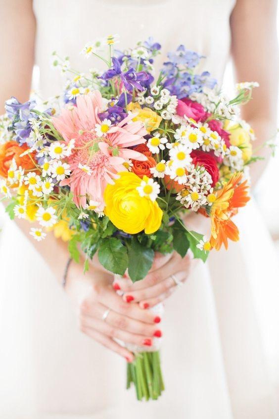 mariage champêtre - fleurs des champs - ally pop event - wedding planner - pinterest