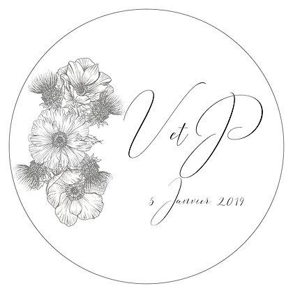 Logo Calligraphie Chic