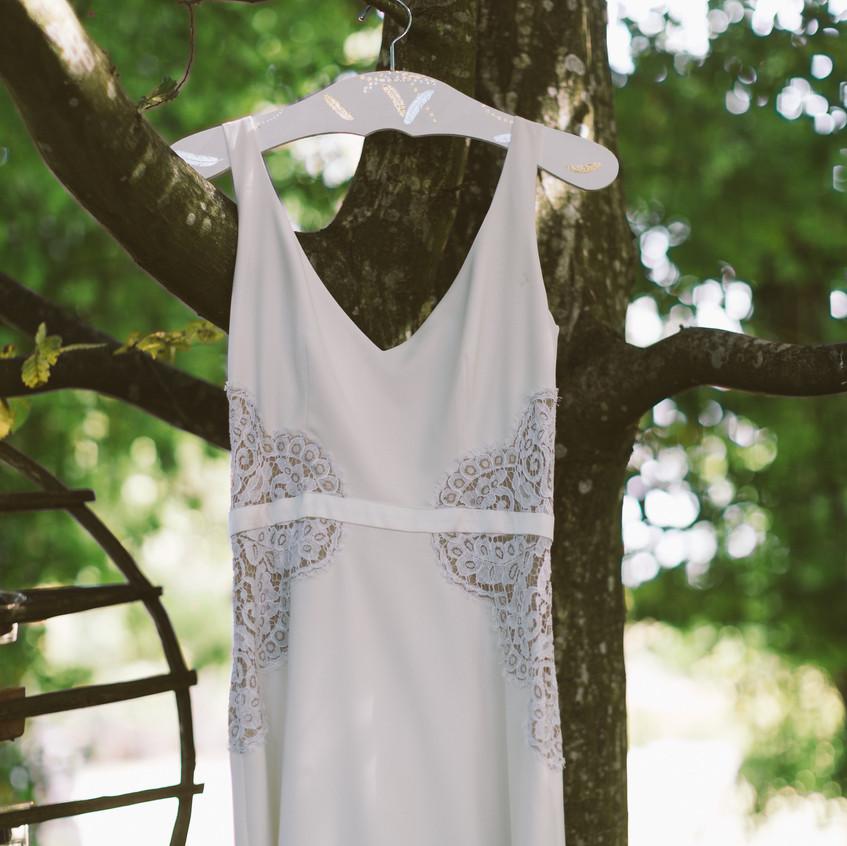 ally pop - wedding planner - la robe de la mariée - mael lambla