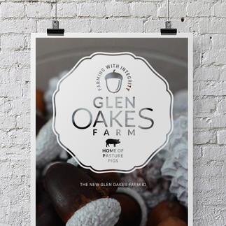 Glen Oakes Farm logo