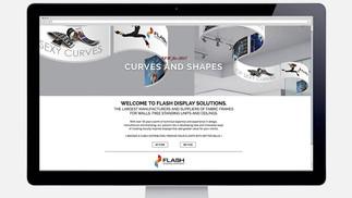 Flash-Displays home page