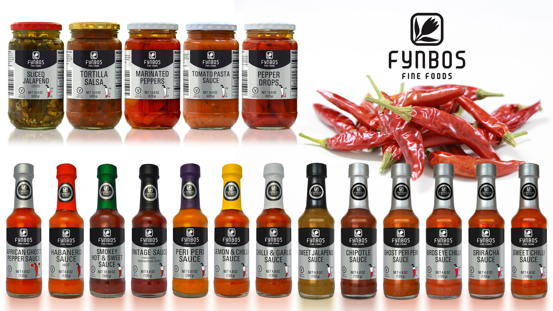 Fynbos Fine Foods packaging
