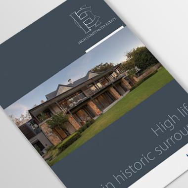 High Constantia brochure cover