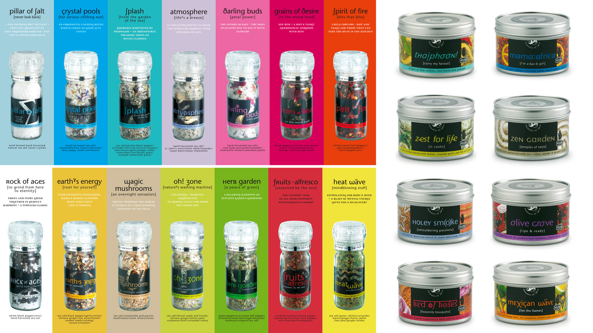 Cape Herb & Spice packaging
