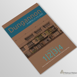 A4 Dungannon brochure cover