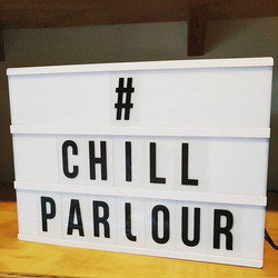 Follow us on Instagram #chillparlour