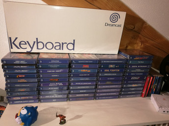 Ma (petite) collection Dreamcast