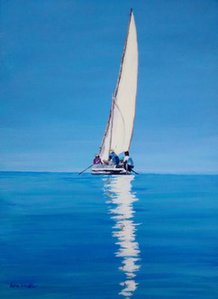 dhow reflection