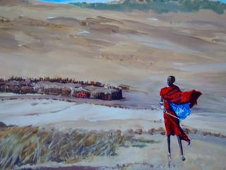 Maasai at Ngorongoro