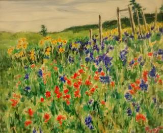 Nature's spring palette