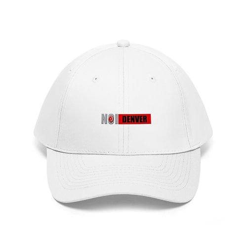 NOI Denver Unisex Twill Hat