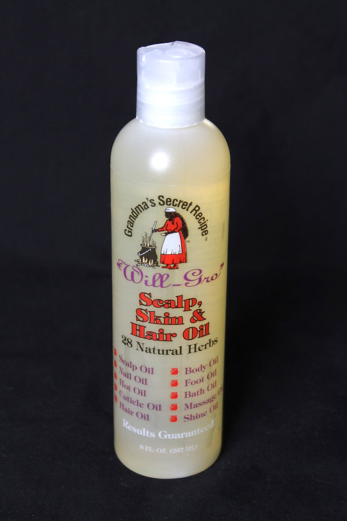 """Will-Gro"" Scalp, Skin and Hair Oil"