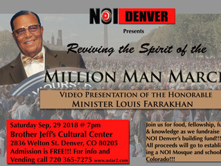 Reviving the Spirit of the Million Man March!!!