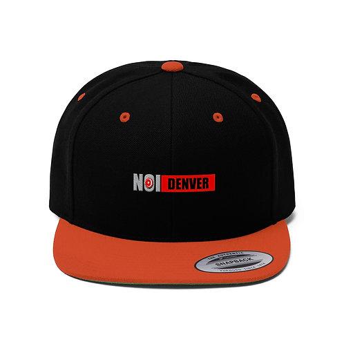 NOI Denver Unisex Flat Bill Hat