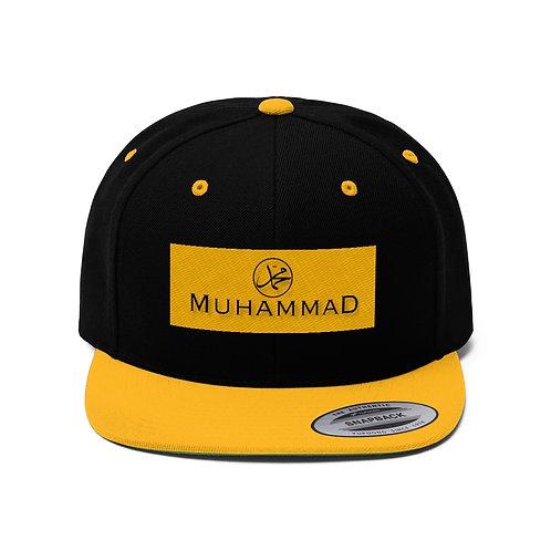 Muhammad Unisex Flat Bill Hat