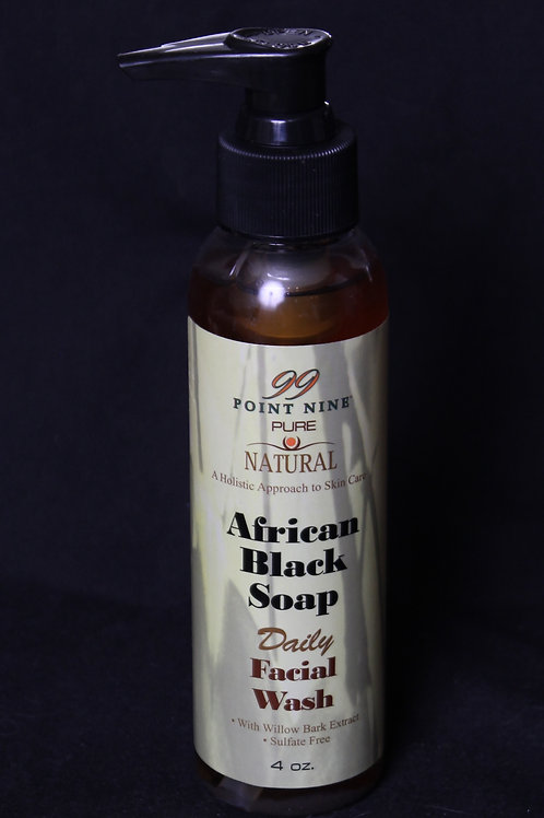 African Black Soap Facial Cleanser