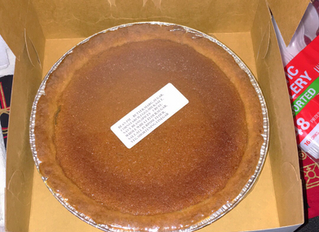 #BlackPanther Bean pies available right now at Supreme Style Barbershop!!!