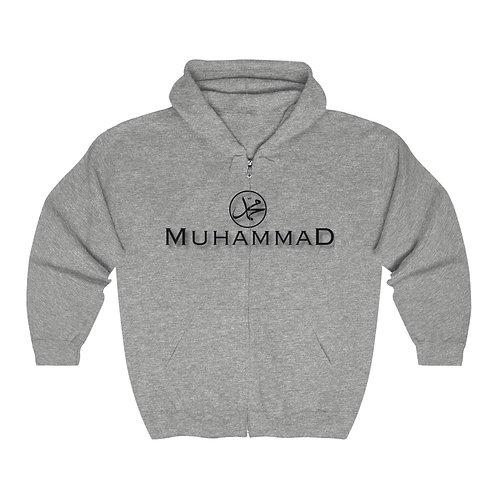Muhammad/FOI Unisex Heavy Blend™ Full Zip Hooded Sweatshirt