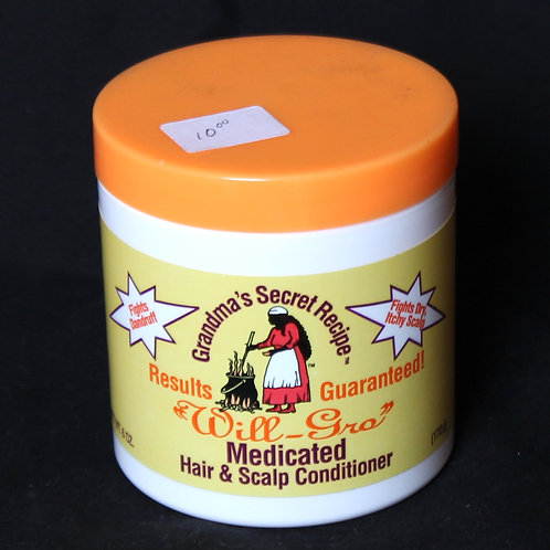 """""""Will-Gro"""" Medicated Hair & Scalp Conditioner"""