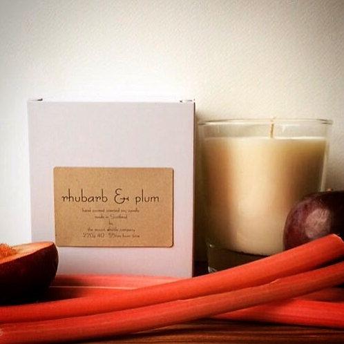 Rhubarb & Plum Candle