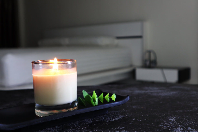 The luxury lighting aromatic scent amber