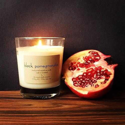 Black Pomegranate Candle