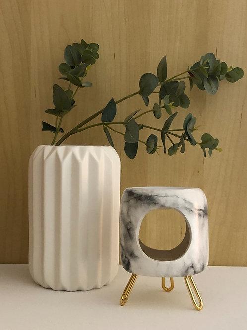 Marble Effect Wax Warmer Gift Set