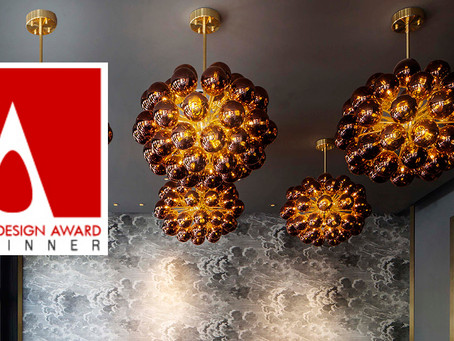 The work is going on tour!  A' Design Award Winner exhibition dates: