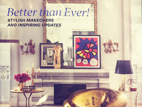 12,000 Francs Project is featured in this months Elle Decor US edition. Cheers Elle!!!!