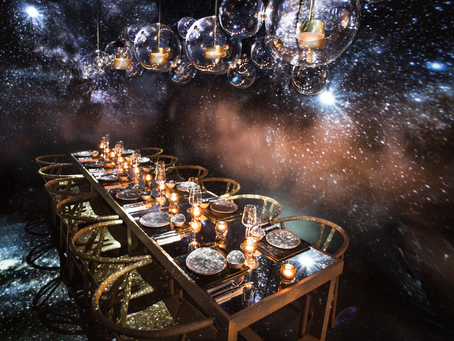 Find Your Lucky Star! Ceremonial Pop-Up Dining in KL Emma Maxwell designs 'Find your Lucky Star' for
