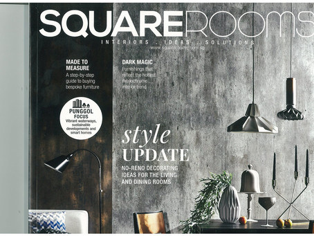 A Feature in this months Square Rooms