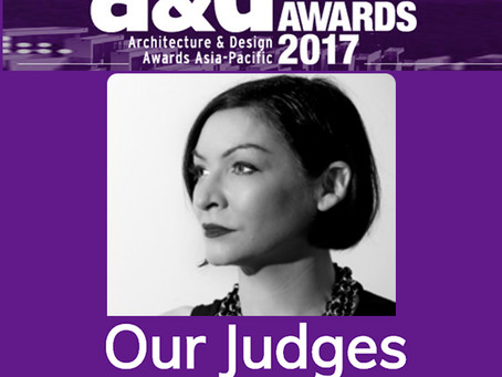 Delighted to be invited to judge at this years A&D awards.