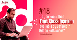 #18-Do you Know that Font classification