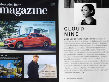 A feature article in Mercedes-Benz Magazine