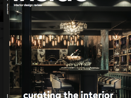 "This month we grace the cover and receive a 7 page spread in ""Inside, Australian Design Review&"