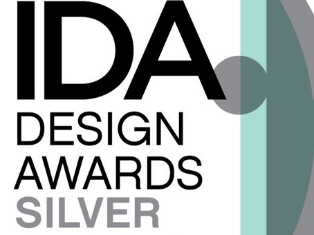 A Silver Win at the International Design Awards!