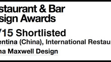 "Florentina is shortlisted for ""Best International Restaurant"""