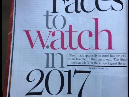 Face to watch in 2017....