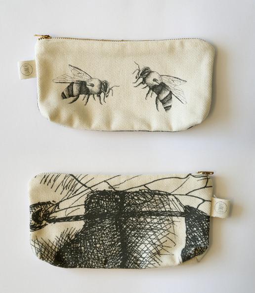 Bees pencil case, 75NIS
