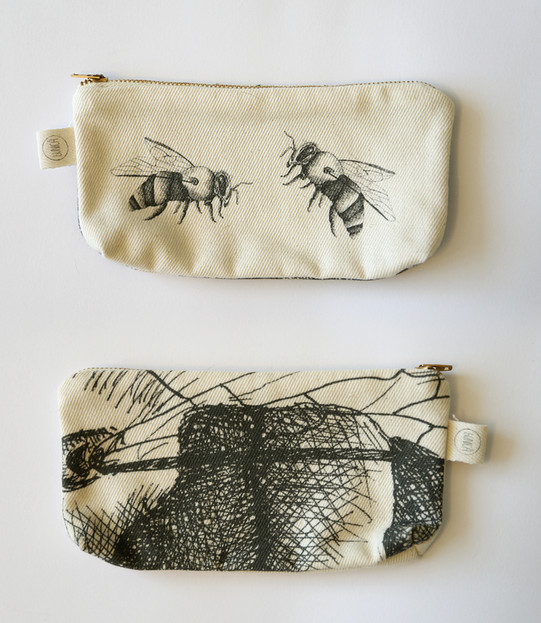 Bees pencil case, 75NIS