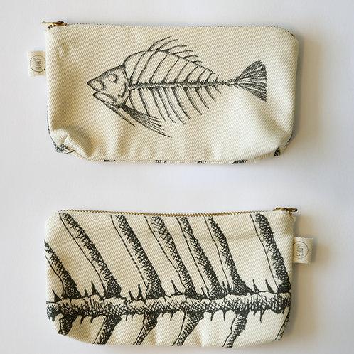 Fish skeleton case