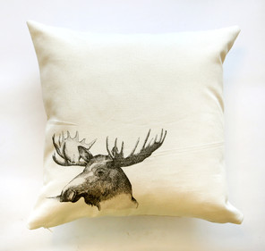 Moose pillow, 180NIS