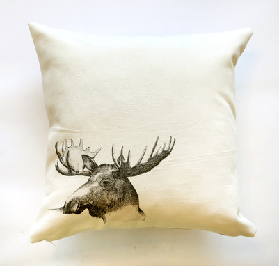 Moose pillow, 180NIS