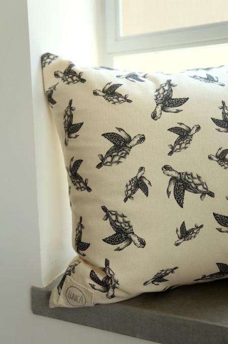 Sea turtle pillow, 180NIS