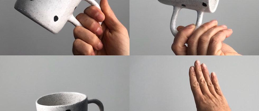 Spots Sand Mug