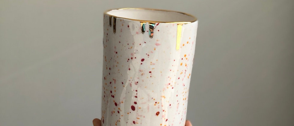 Veuve Splatter Vase