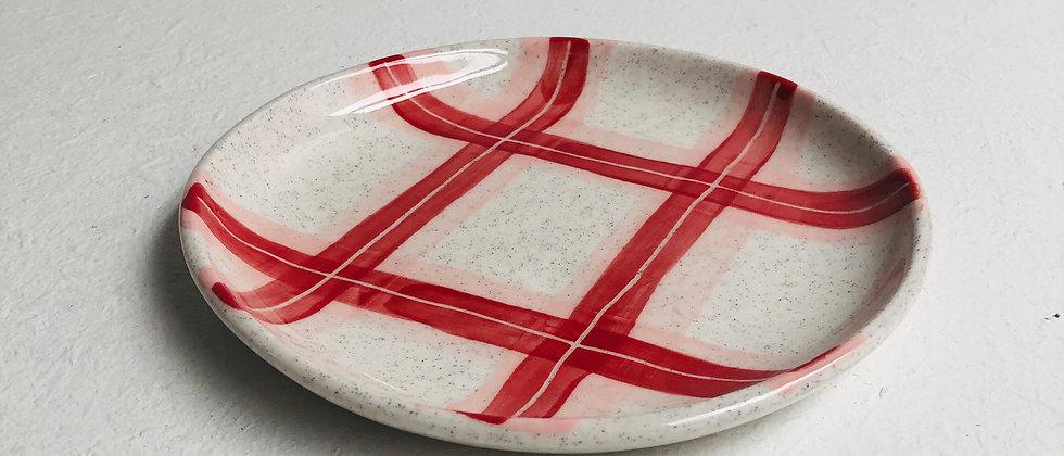 Grannie's Tartan Side Plate